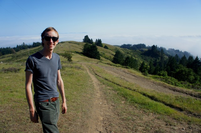 The author, Andrew Wojtanik, at Mount Tamalpais State Park in California