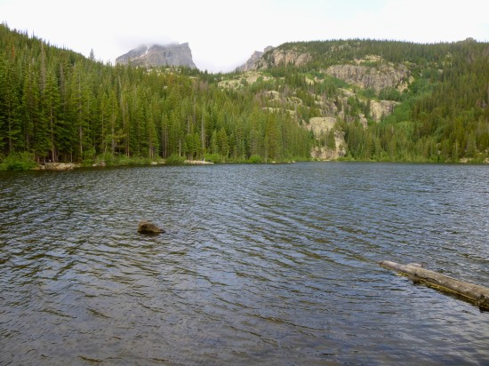 Hallett Peak and Bear Lake