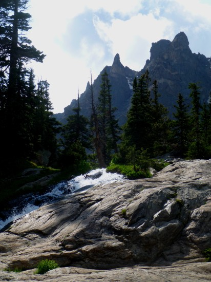 Flattop Mountain spires