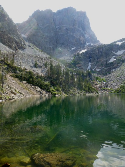 Hallett Peak and Emerald Lake, July 2013