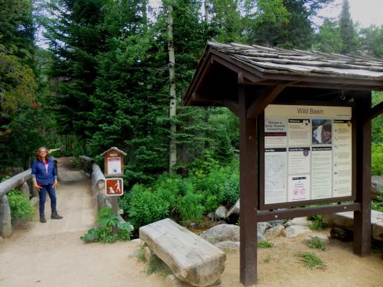 Wild Basin Trailhead