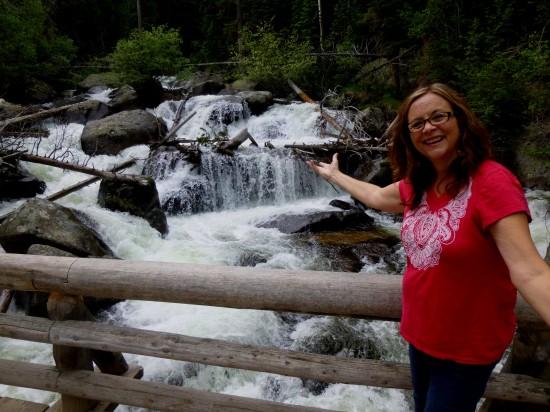Cascades at North St. Vrain Creek crossing