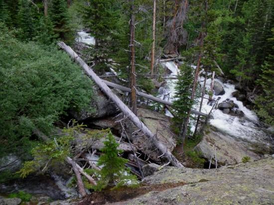Cony Creek meets North St. Vrain Creek