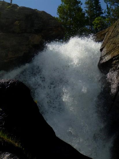 Ouzel Falls and that darn boulder