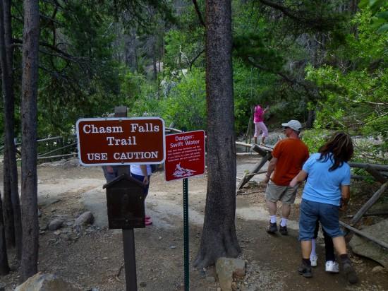 Chasm Falls Trailhead
