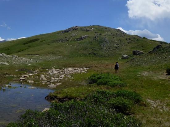 Marmot Point trailhead