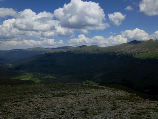 Cache La Poudre Valley to the north
