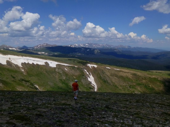 Iron Mountain to the northwest