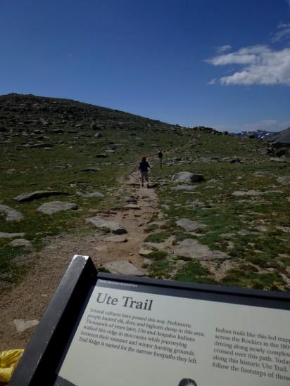 Trailhead at Ute Crossing