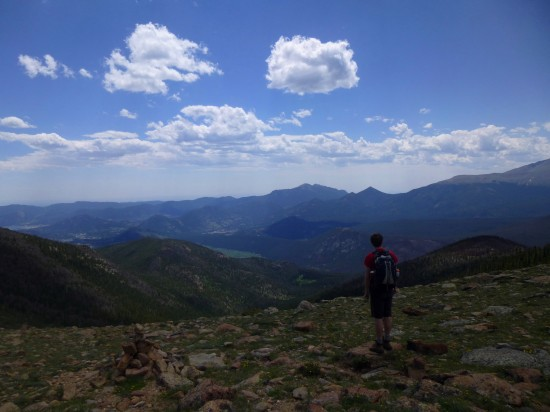 Timberline Pass, July 2013