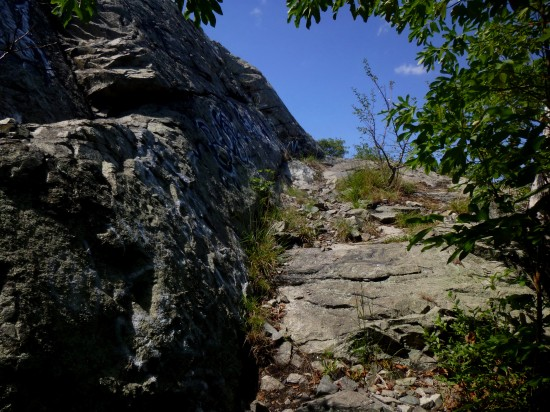 Climbing Boojum Rock (275')