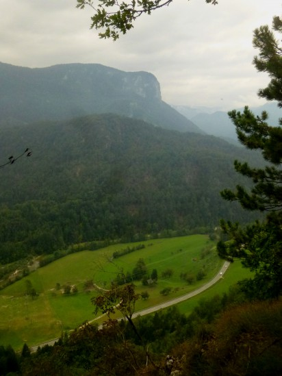 Bohinj Valley from Mala Ojstrica