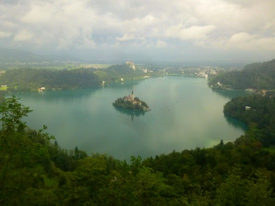Lake Bled from Mala Osojnica