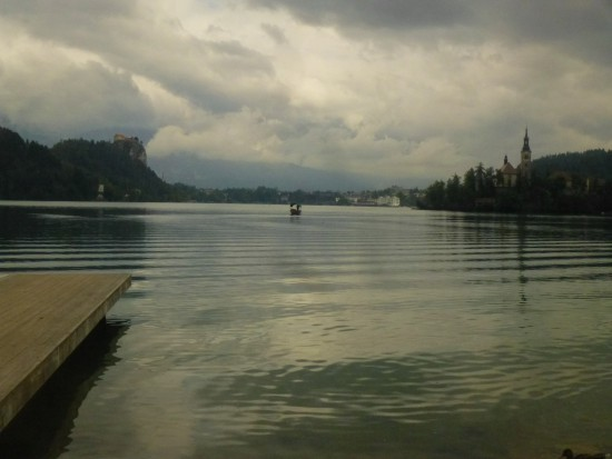 Back down at Lake Bled