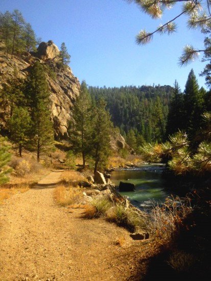 Narrow Gauge Trail, Pine Valley Ranch Park, October 2014