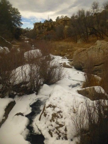 Inner Canyon Trail, Castlewood Canyon State Park (Colorado), November 2014