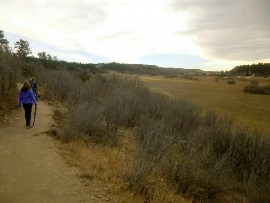 Lake Gulch Trail heading back toward Canyon Point