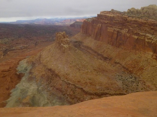 Navajo Knobs Trail, Capitol Reef National Park, December 2014