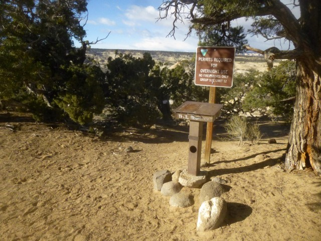 The start of the hike to Upper Calf Creek Falls, Grand Staircase-Escalante National Monument