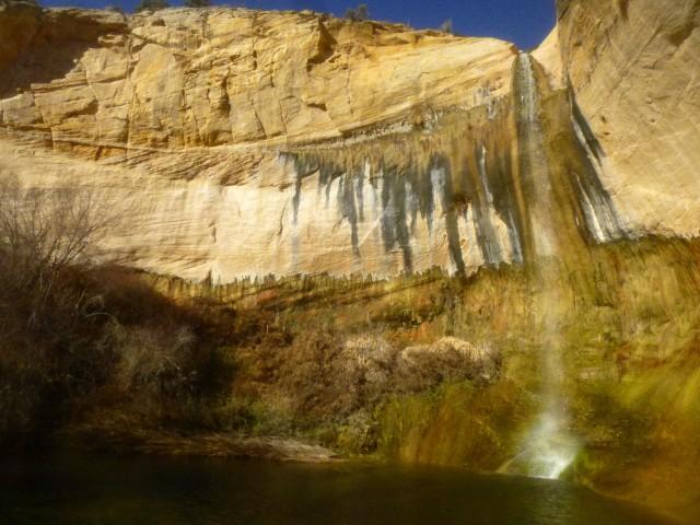Upper Calf Creek Falls, Grand Staircase-Escalante National Monument, December 2014