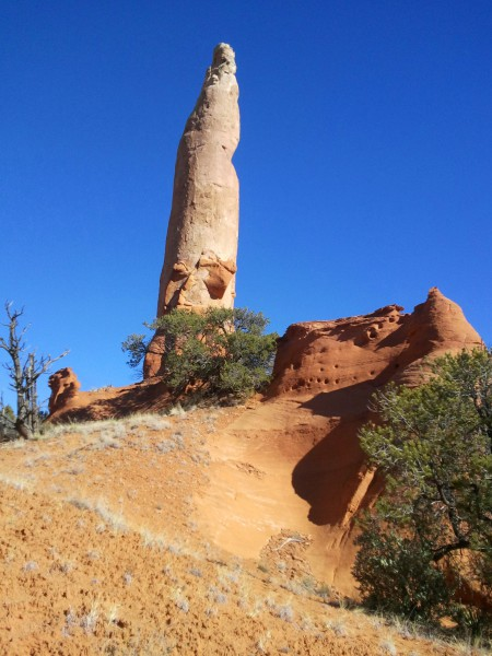 Ballerina Spire, Panorama Trail, Kodachrome Basin State Park, January 2015