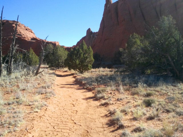 Beginning of Grand Parade Trail, Kodachrome Basin State Park