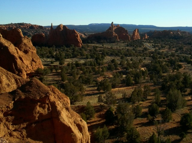 Angel's Palace Trail, Kodachrome Basin State Park, January 2015