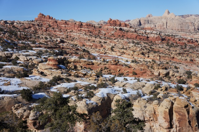 Frying Pan Trail, Capitol Reef National Park, January 2015