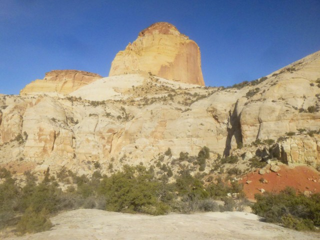 Golden Throne (7,042') from the end of the trail, Capitol Reef National Park
