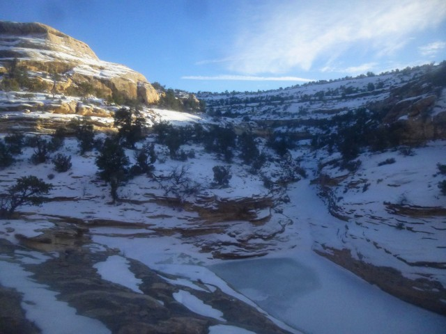 Confluence of Tuwa Canyon and Armstrong Canyon, Natural Bridges National Monument