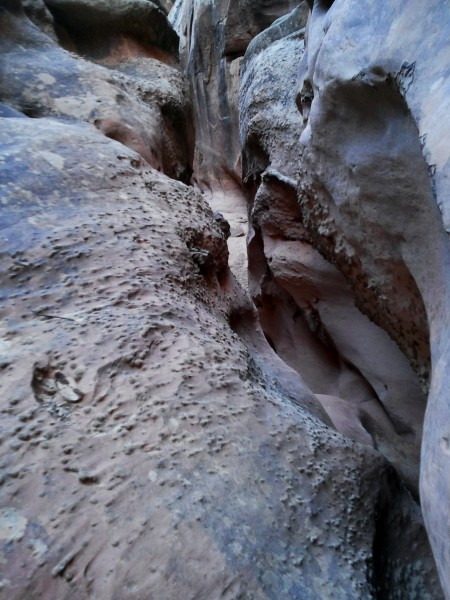 Preview of the slot canyon just outside Pleasant Creek