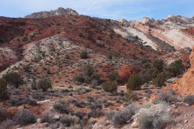 Entering Headquarters Canyon in the Waterpocket Fold