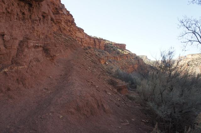The climbing part...