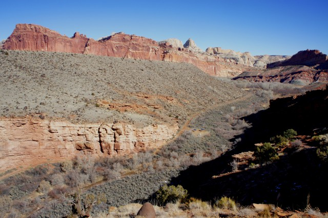 Fremont River Trail, Capitol Reef National Park, February 2015