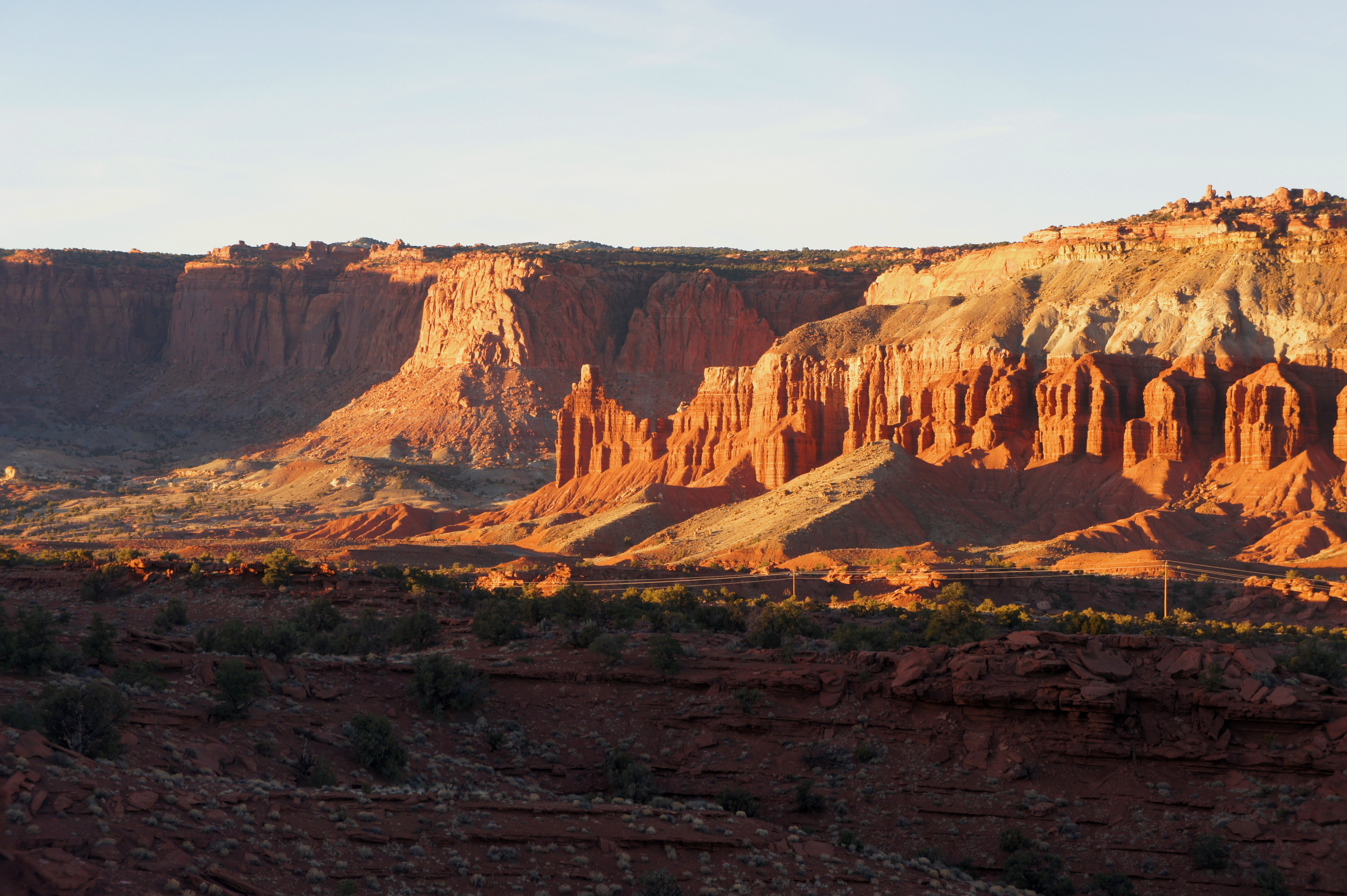 Sunset Point Trail Capitol Reef National Park Ut Live