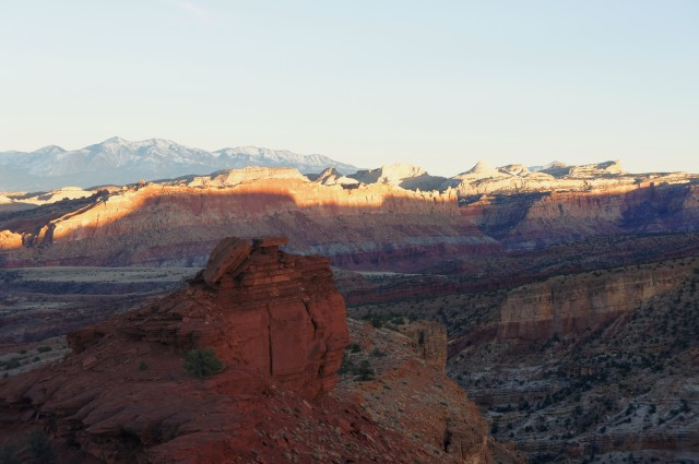 Sunset Point Trail, Capitol Reef National Park, February 2015