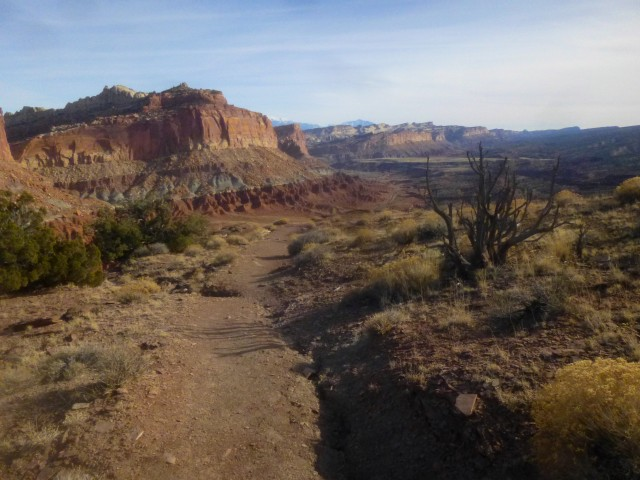 Chimney Rock Trail, Capitol Reef National Park, December 2014