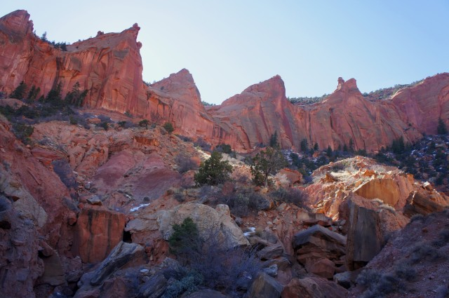 Red Canyon amphitheater, Capitol Reef National Park