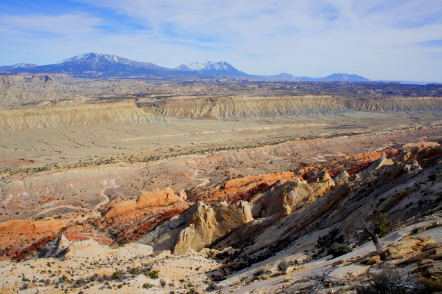 View of Strike Valley from the Upper Muley Twist Canyon Rim Route, Capitol Reef National Park
