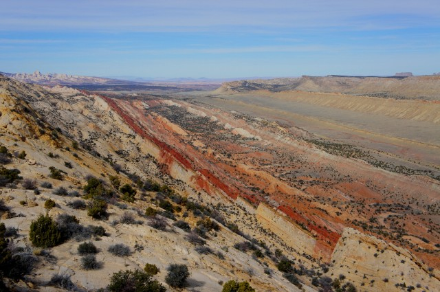 View from rim route, Upper Muley Twist Canyon loop, Capitol Reef National Park
