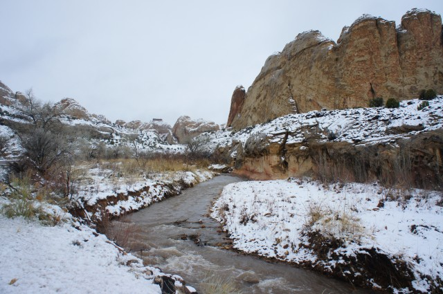 Fremont River near Mile Marker 84, Capitol Reef National Park