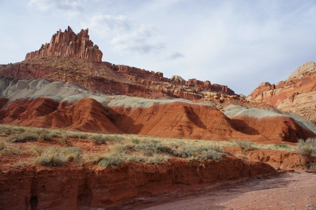 The Castle Trail, Capitol Reef National Park, March 2015