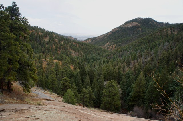 Silver Cascade Falls Trail, North Cheyenne Canyon Park, April 2015