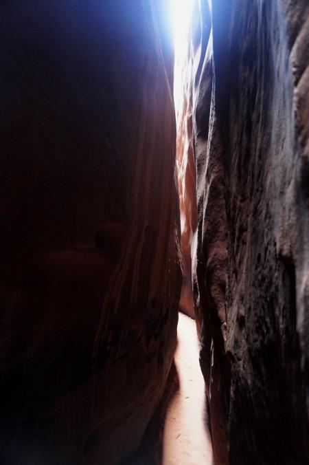 Brimstone Gulch slot canyon