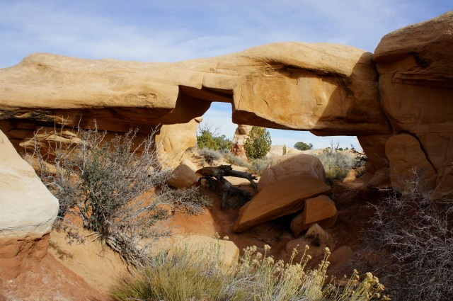 Mano Arch, Devil's Garden, Grand Staircase-Escalante National Monument