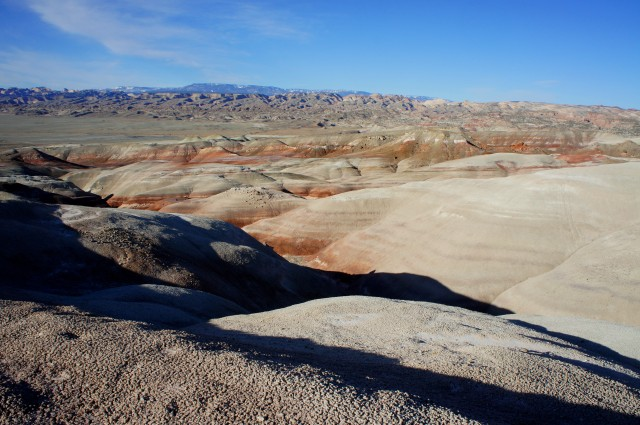 Bentonite Hills, outside Capitol Reef National Park