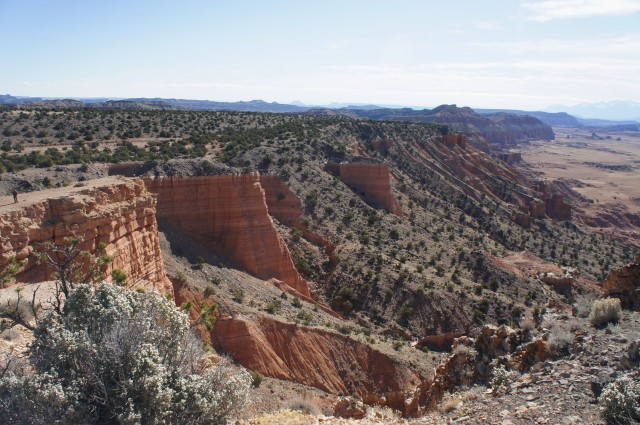 Upper South Desert Overlook Trail, Capitol Reef National Park, March 2015