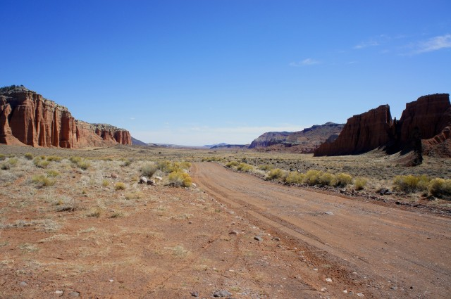 Middle Desert in Cathedral Valley District, Capitol Reef National Park