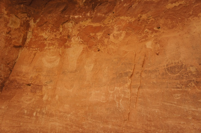 Petroglyphs in Capitol Gorge, Capitol Reef National Park