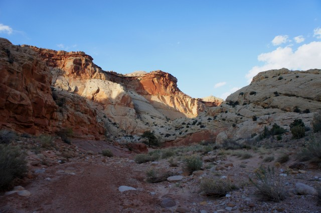 Continuing down Capitol Gorge, as the Page and Carmel emerge